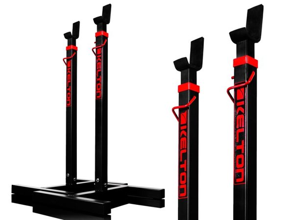 A pair of HS1 KELTON Home Barbell stands